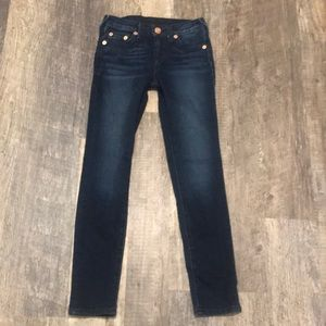 Kids True Religion skinny jeans size 10